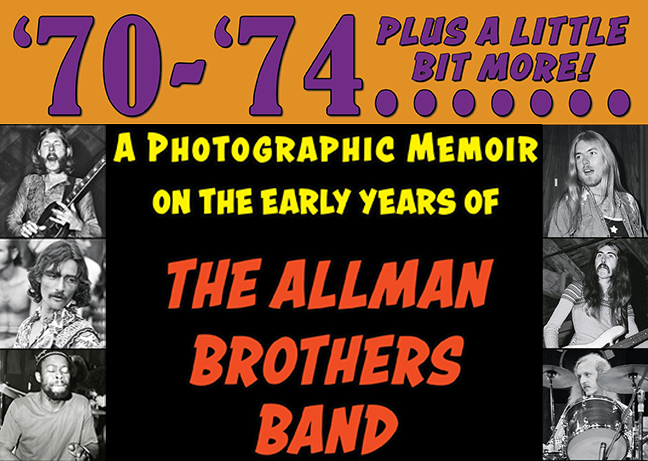 Allman Brothers Book Photos